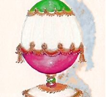 Holiday Egg by Elle Smith Fagan