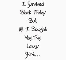 Black Friday by Richard Williams