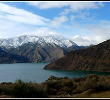 Pyramid Lake, California by Gail Faulkner