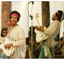 JIMI AT WOODSTOCK! by raymondoantonio