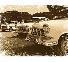 Classic FC Holden Cars Photographic Print