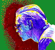 Jazz Portraits-Bill Evans by Francesca Romana Brogani
