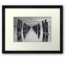 Pier to Infinity - Clifton Springs Framed Print