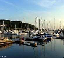 Inverkip Marina by Kevin Cotterell