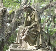 Bonaventure Cemetery Monument by Willowsmom