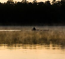 Dawn at Lake Woodlands 4, The Woodlands TX USA by GJKImages