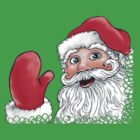 Santa Clause Shirt by mandyemblow