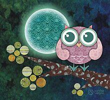 Midnight Owl by sandygrafik