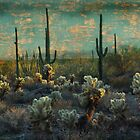 Desert Landscape by Barbara Manis