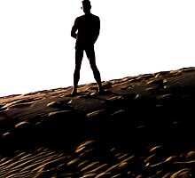 Man on the Dune by peterrobinsonjr