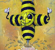 Bee Positive by Chris Brett