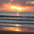 Sunrise, Coral Sea by jasondean