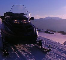 Snowmobile, Falls Creek by jasondean