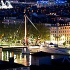 lyon by night by linelight
