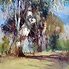 Kalangadoo Laneway - South East South Australia by Pieter  Zaadstra