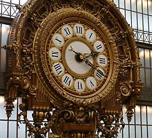 Golden Clock. Musee d'Orsay by lindart48