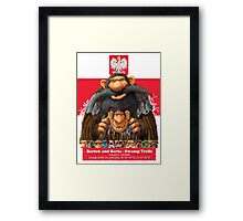 Bartek and Barta the Swamp Trolls Framed Print