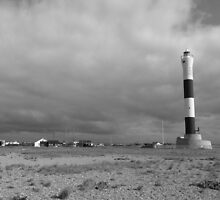Dungeness Lighthouse by CARL135