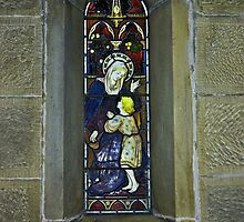 Window #3 - East Witton Church. by Trevor Kersley