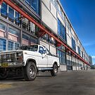 Ford Truck at Walsh Bay by Rod Kashubin