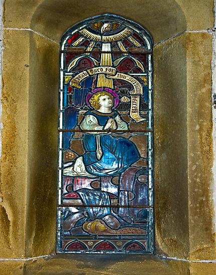 Window #4 - East Witton Church by Trevor Kersley
