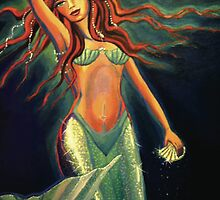 Atlantean Mermaid by SusanRodio