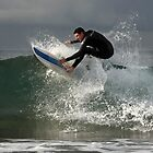 Turimetta Surfer by Dianne English