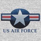US Air Focre T-Shirt by Karl R. Martin
