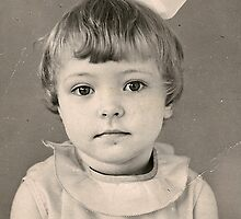 Me (2 years old) by Lana D'Attilio