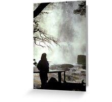 Russell Falls, Tasmania  Greeting Card