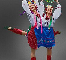 Ukrainian Dancers by Yuri Lev