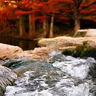 Bubbling McKinney Falls  by ijam357