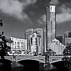 Melbourne Across The Yarra by Joanna Beilby