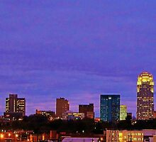Winston Salem Skyline by clmustin