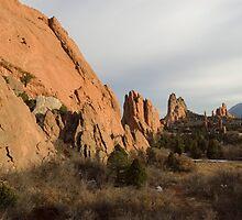 Garden of the Gods - Colorado by Joy King