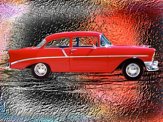 '56 Metals - '56 Chevy by TWindDancer