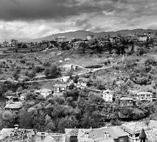 Ottoman town  by Erdj