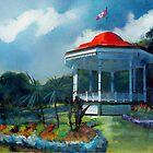 Spring Garden, Halifax Canada by David Sourwine