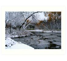 Winter Wonderland... Art Print