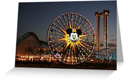 Mickey Ferris Wheel by Marcella Martinez