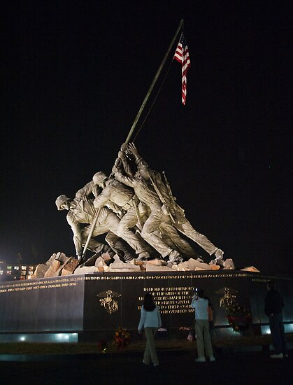 Iwo Jima Memorial by Jim Haley