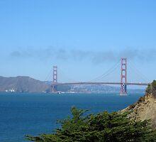 Golden Gate Bridge From China Beach by Jennifer Ferry