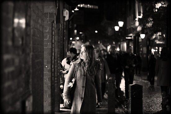 Girl in Covent Garden by cheburashka