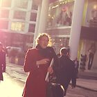 girl with the sun flare by cheburashka