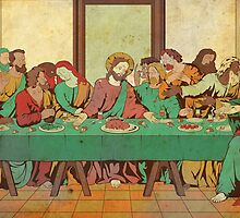 Last Suppah by Tancredi Trugenberger