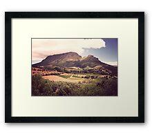 Stellenbosch Wine Country - South Africa Framed Print