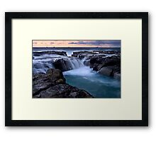 Newcastle Dawn - Australia Framed Print
