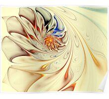 Flower-Abstract-Light Poster