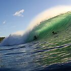 Sun lit wave by ljvisuals