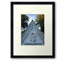 Up Arrow Framed Print